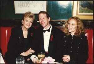 Angela Lansbury, General Manager Peter Bogyo and Madeline Kahn